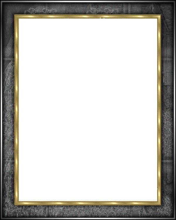 Cadre noir - Marcos transparentes ...