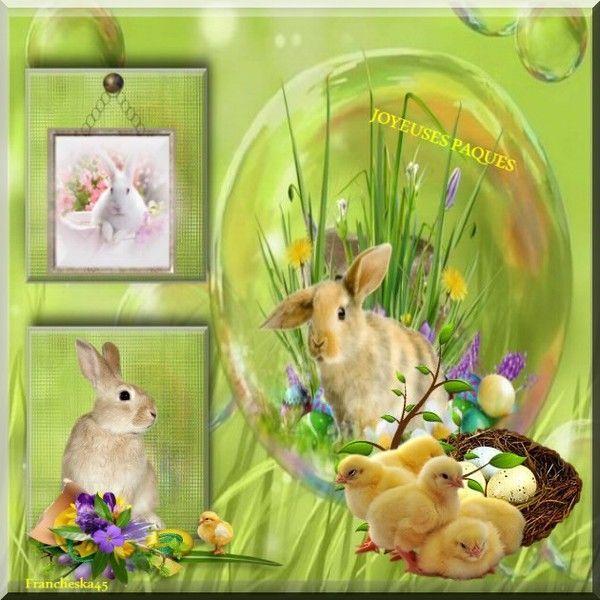 ma création joyeuse pâques
