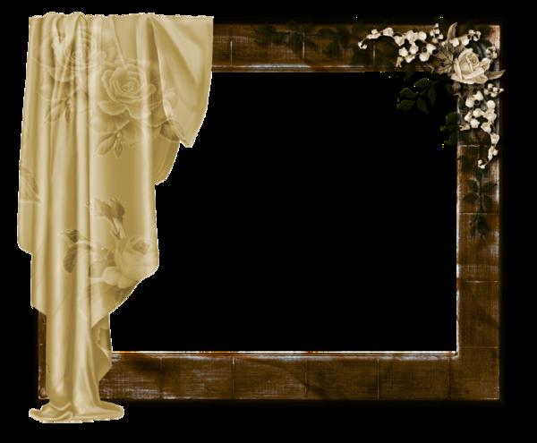 Cadre avec rideaux - Rideaux de douche transparent ...