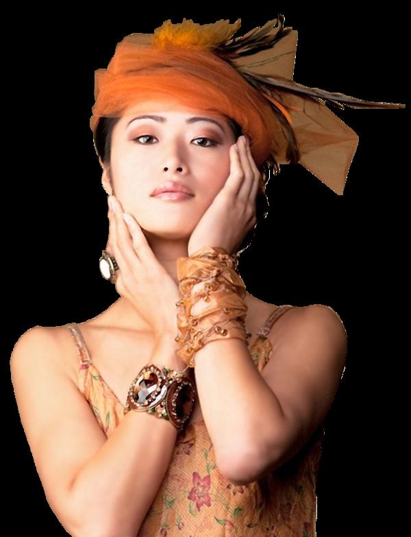 Nounours sexy orange