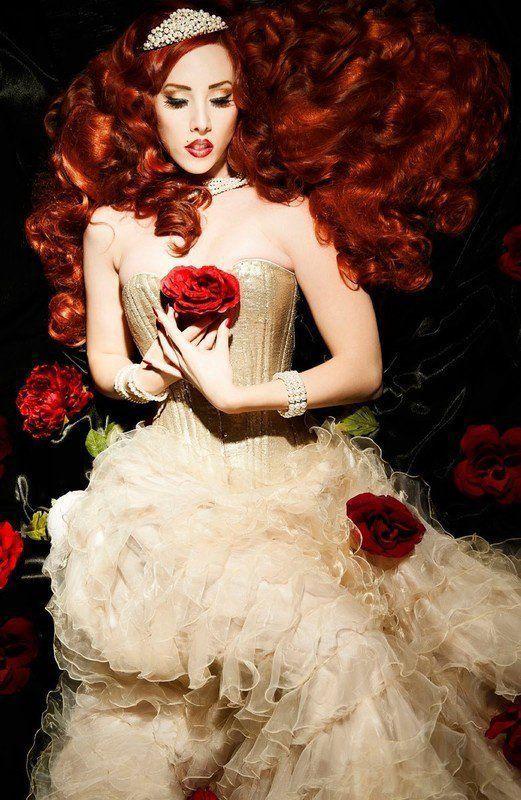 belles images de femme avec fleurs - Page 6